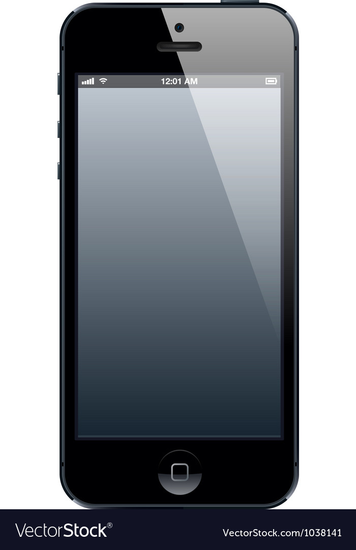 Phone five vector | Price: 1 Credit (USD $1)