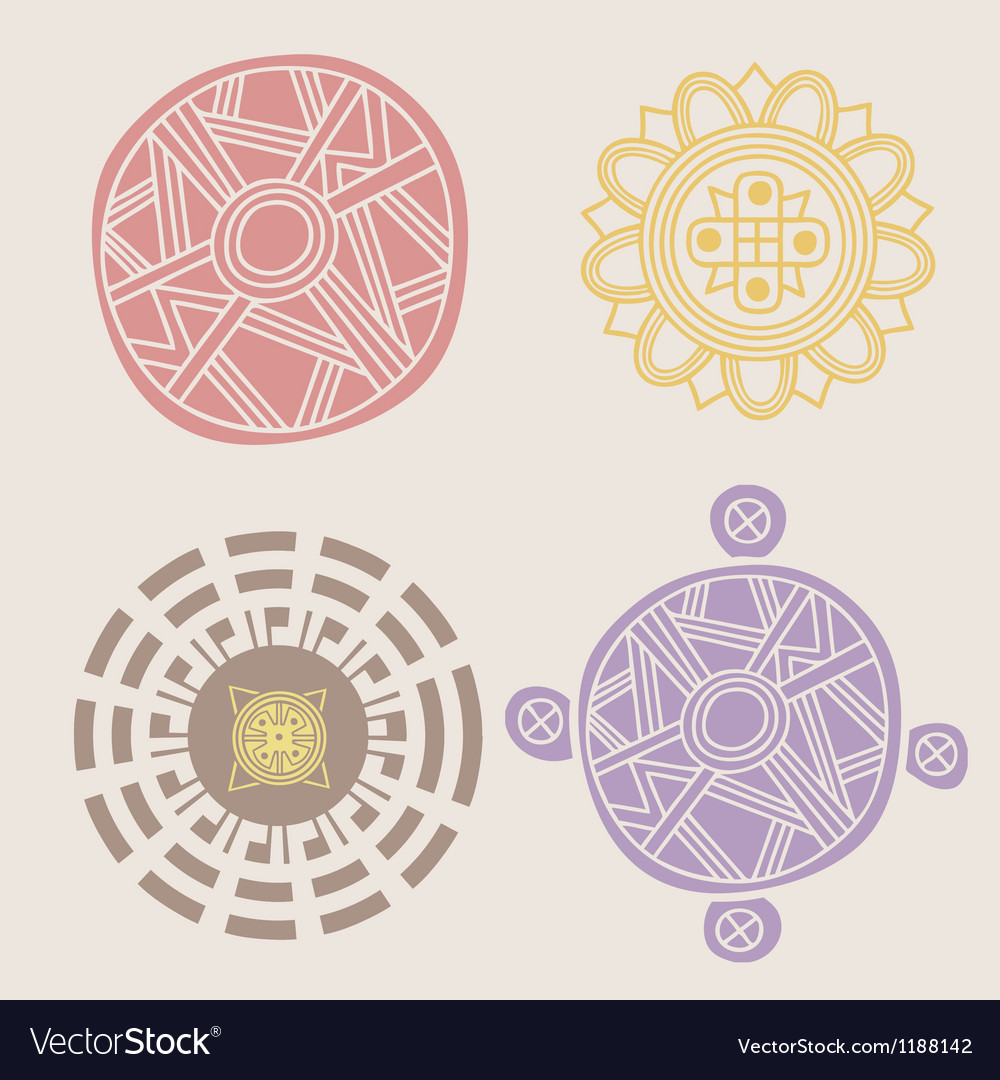 Indian ornamental collection vector | Price: 1 Credit (USD $1)