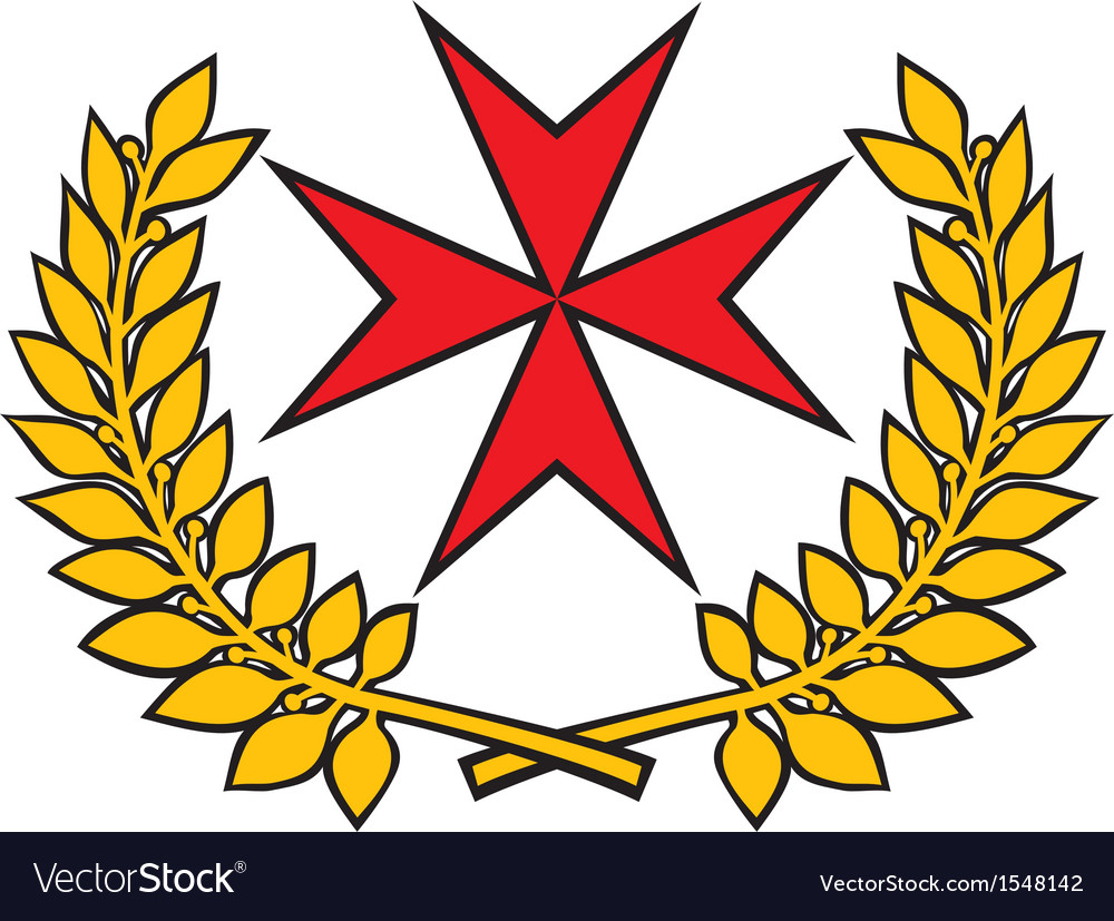 Maltese cross vector | Price: 1 Credit (USD $1)