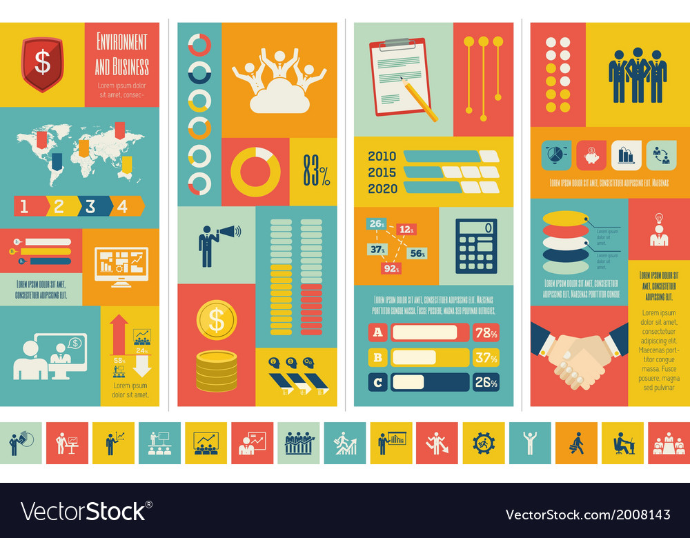 Business infographic template vector   Price: 1 Credit (USD $1)