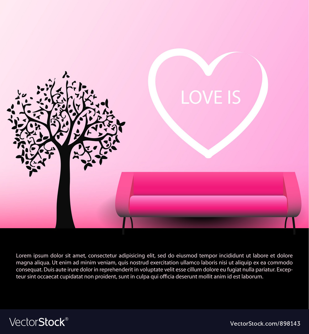 Lady and gentleman fall in love together vector | Price: 1 Credit (USD $1)