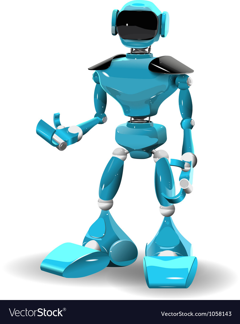 Plastic robot2 vector | Price: 3 Credit (USD $3)