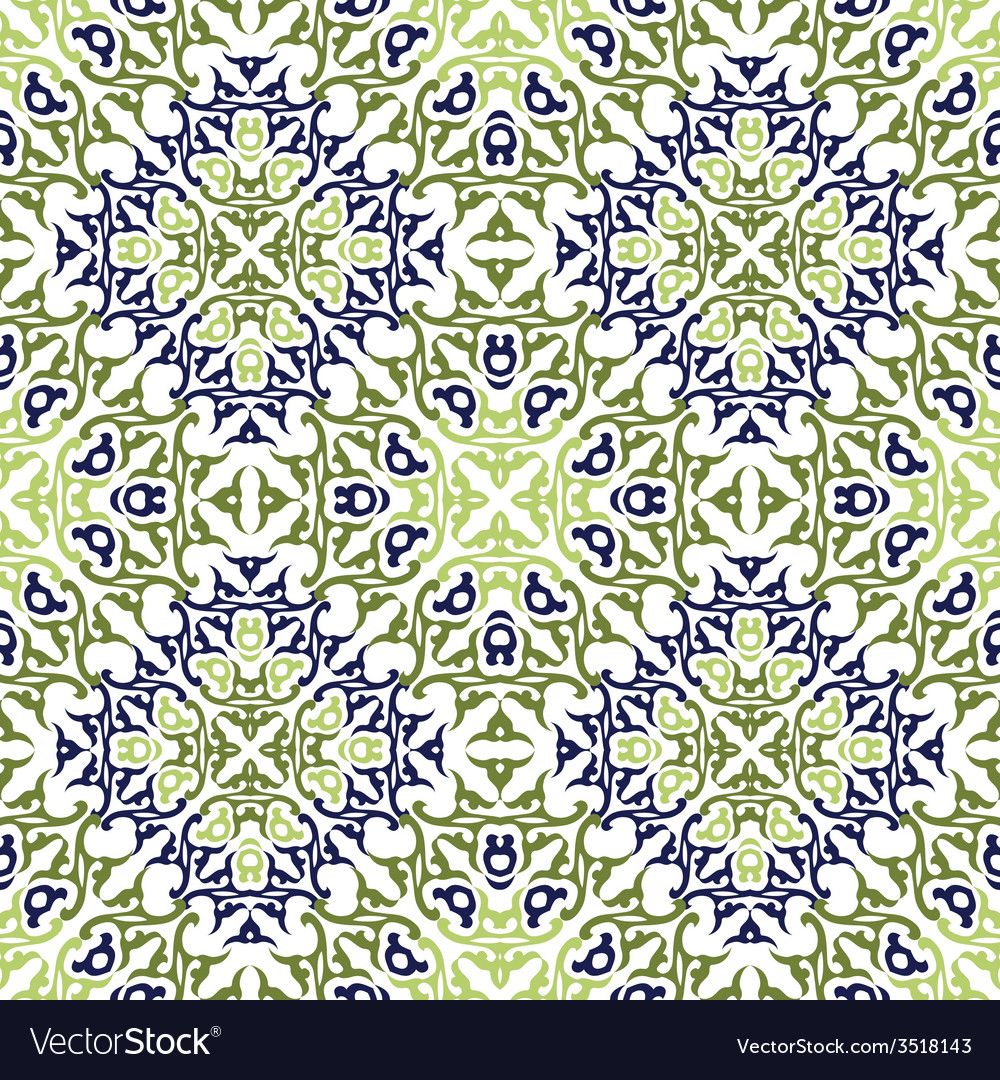 Seamless pattern in victorian style vector   Price: 1 Credit (USD $1)