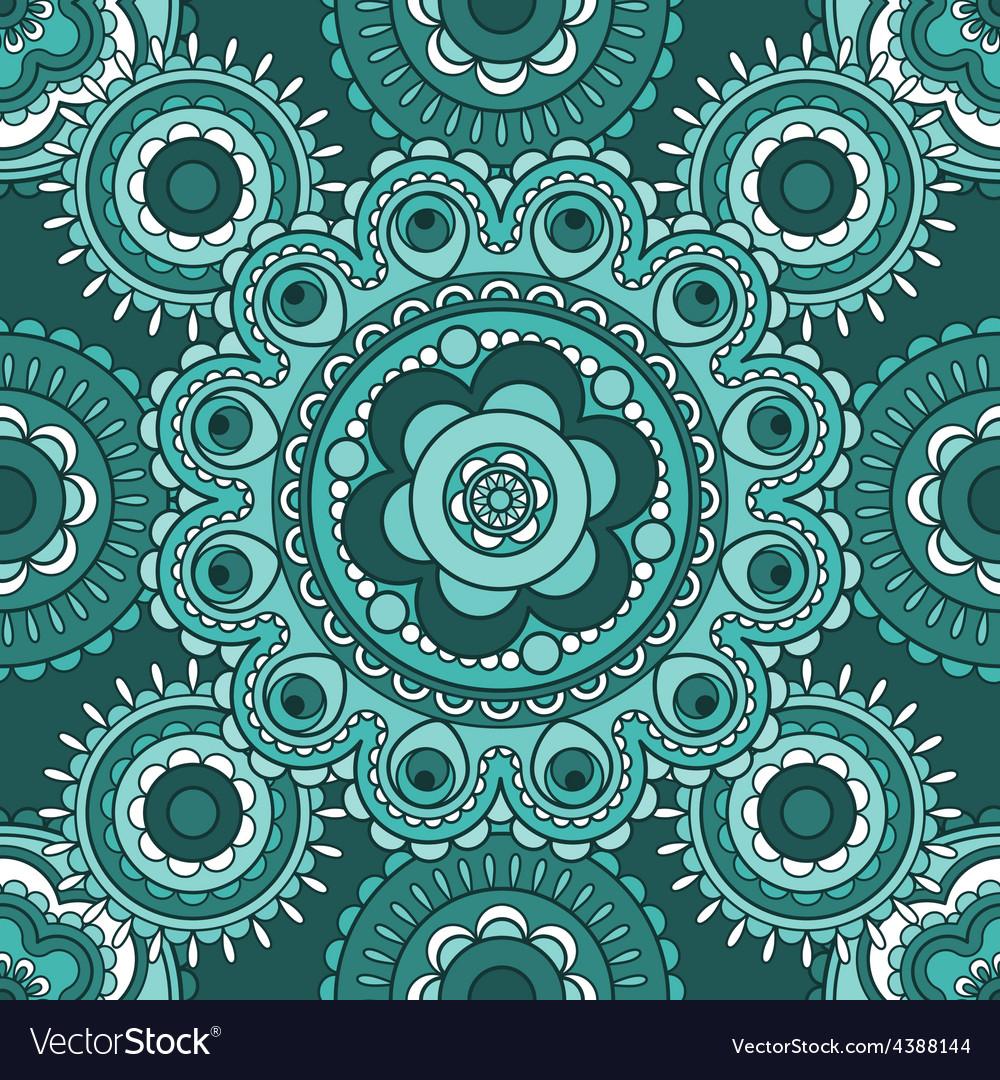 Seamless decorative pattern vector | Price: 1 Credit (USD $1)