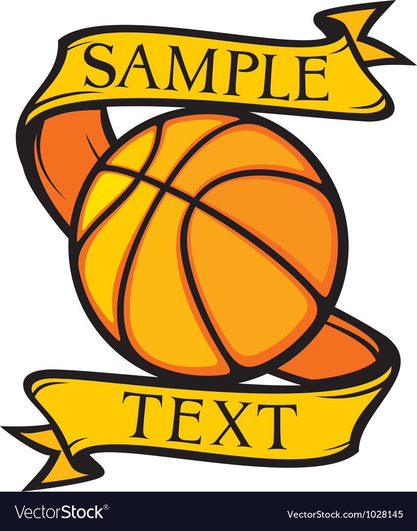 Basketball club emblem vector | Price: 1 Credit (USD $1)