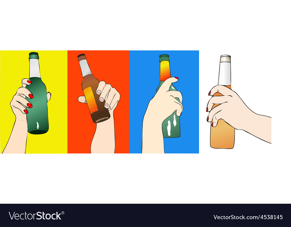 Fantasy of beers vector | Price: 1 Credit (USD $1)