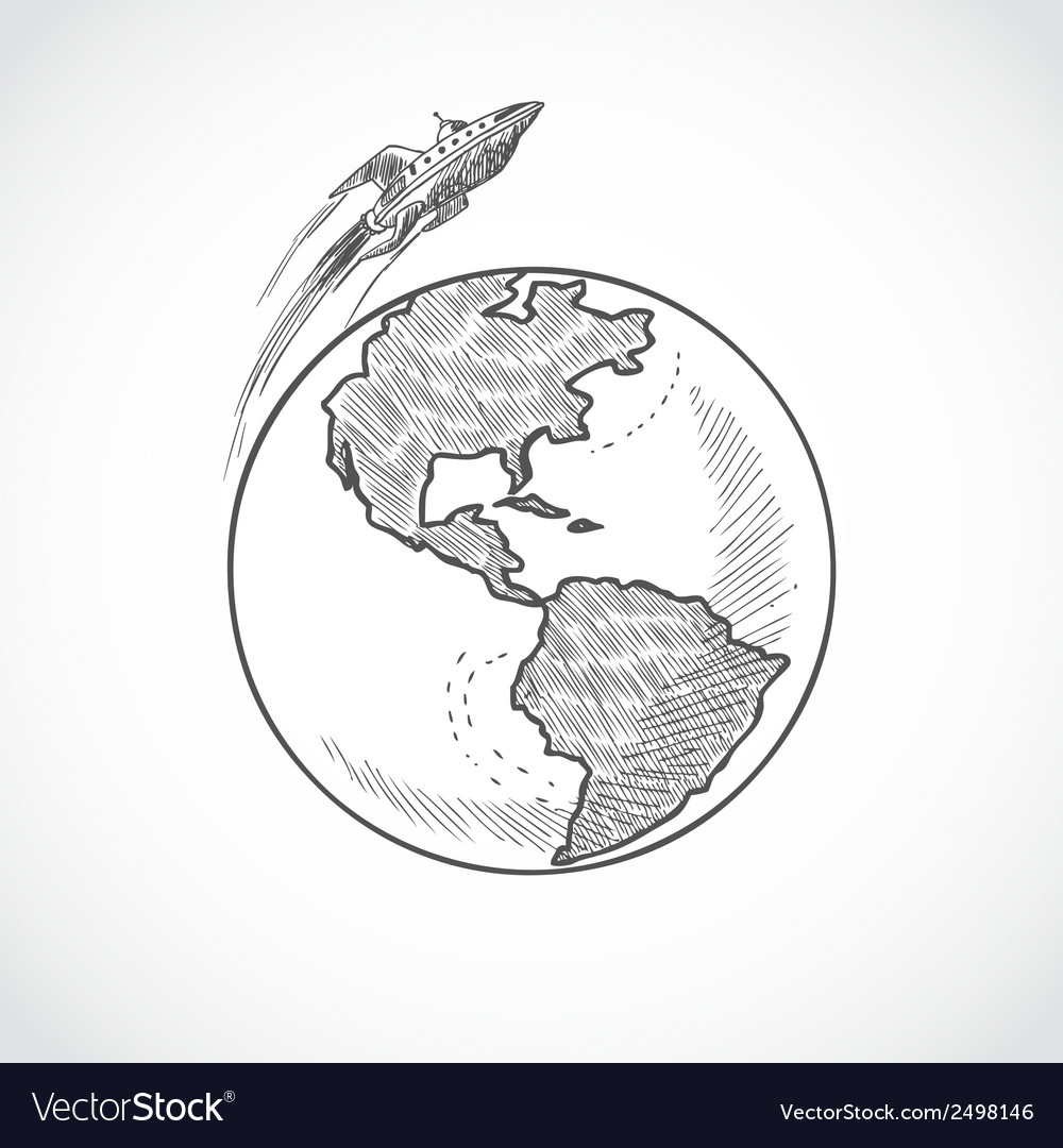 Aircraft icons globe vector | Price: 1 Credit (USD $1)