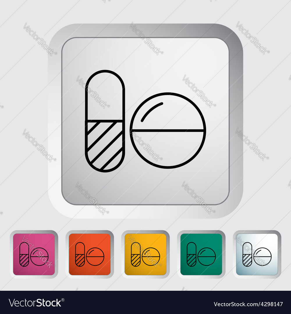 Contraceptive pills vector | Price: 1 Credit (USD $1)
