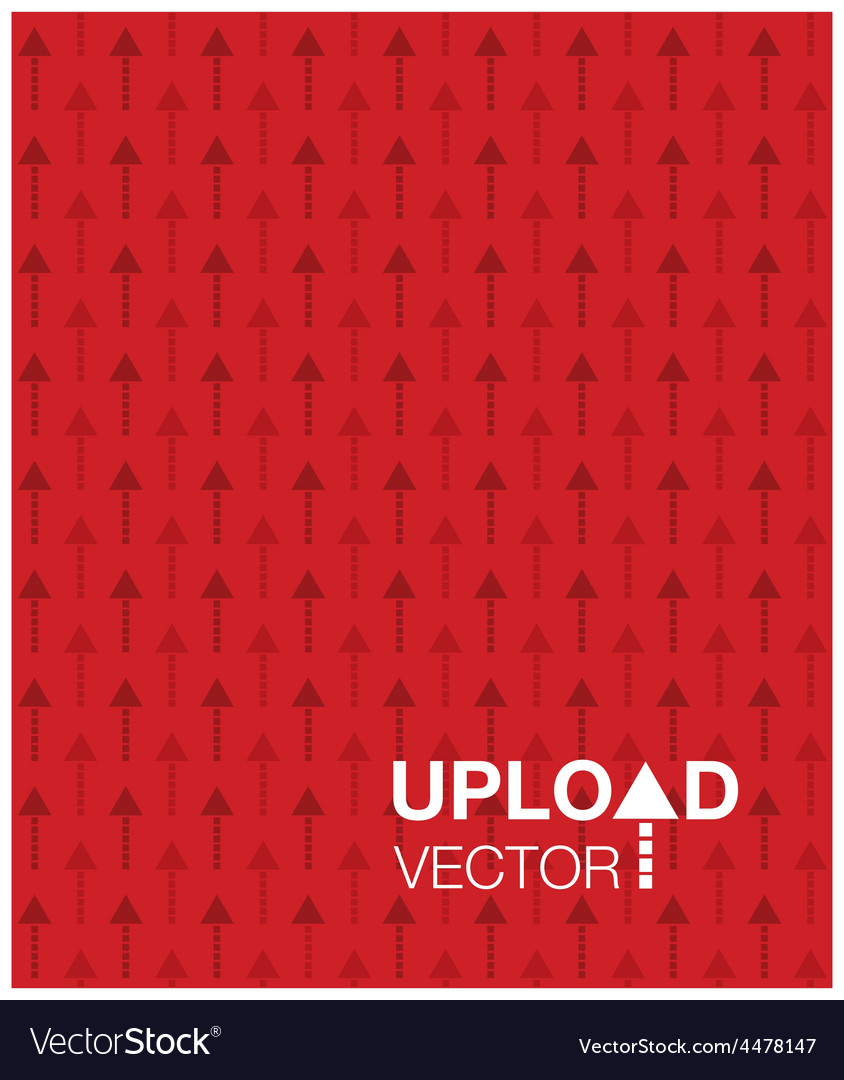 Red upload background vector   Price: 1 Credit (USD $1)