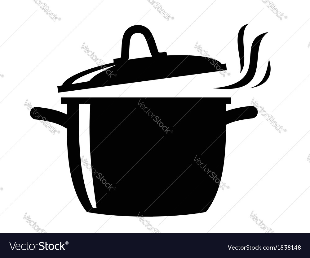 Cooking pan icon vector | Price: 1 Credit (USD $1)
