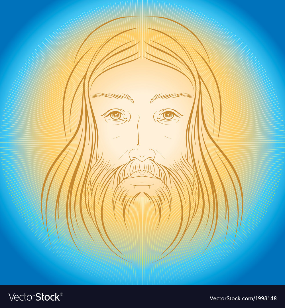 Jesus christ shine light gloride rays vector | Price: 1 Credit (USD $1)