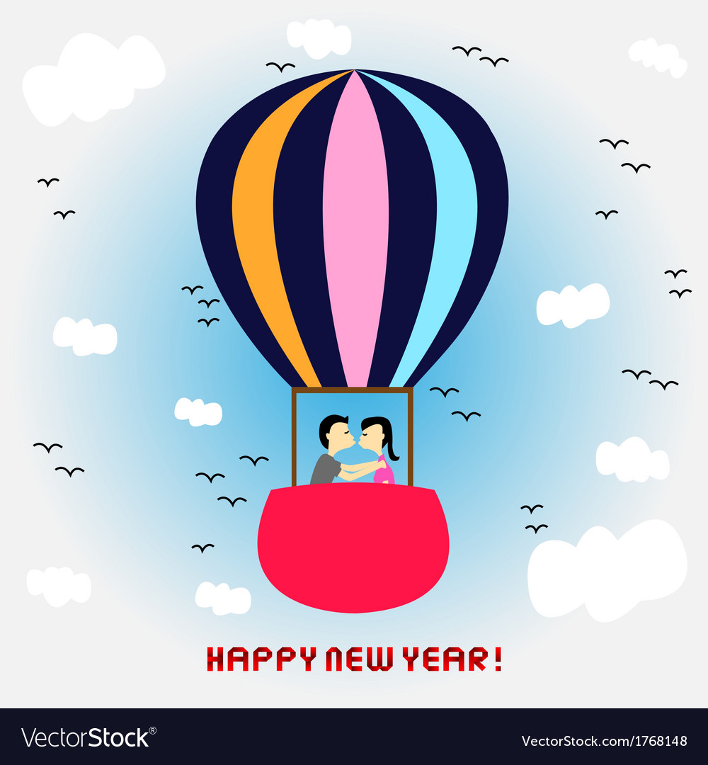 New year card6 vector | Price: 1 Credit (USD $1)