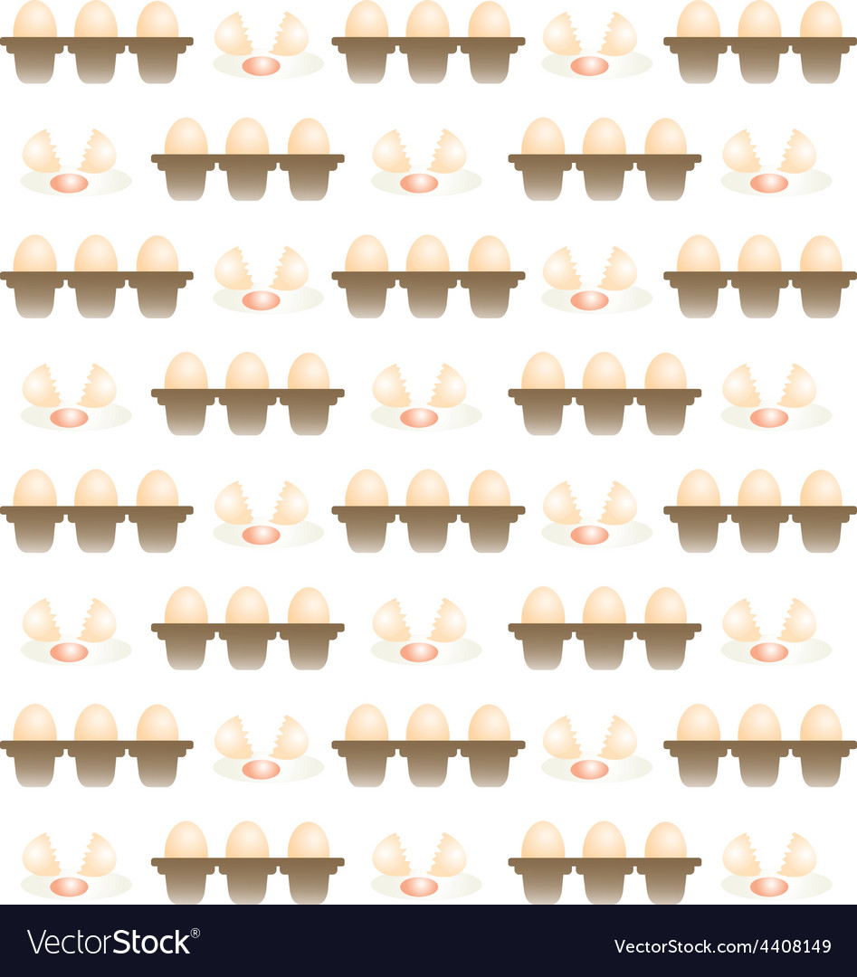Egg pattern background vector | Price: 1 Credit (USD $1)