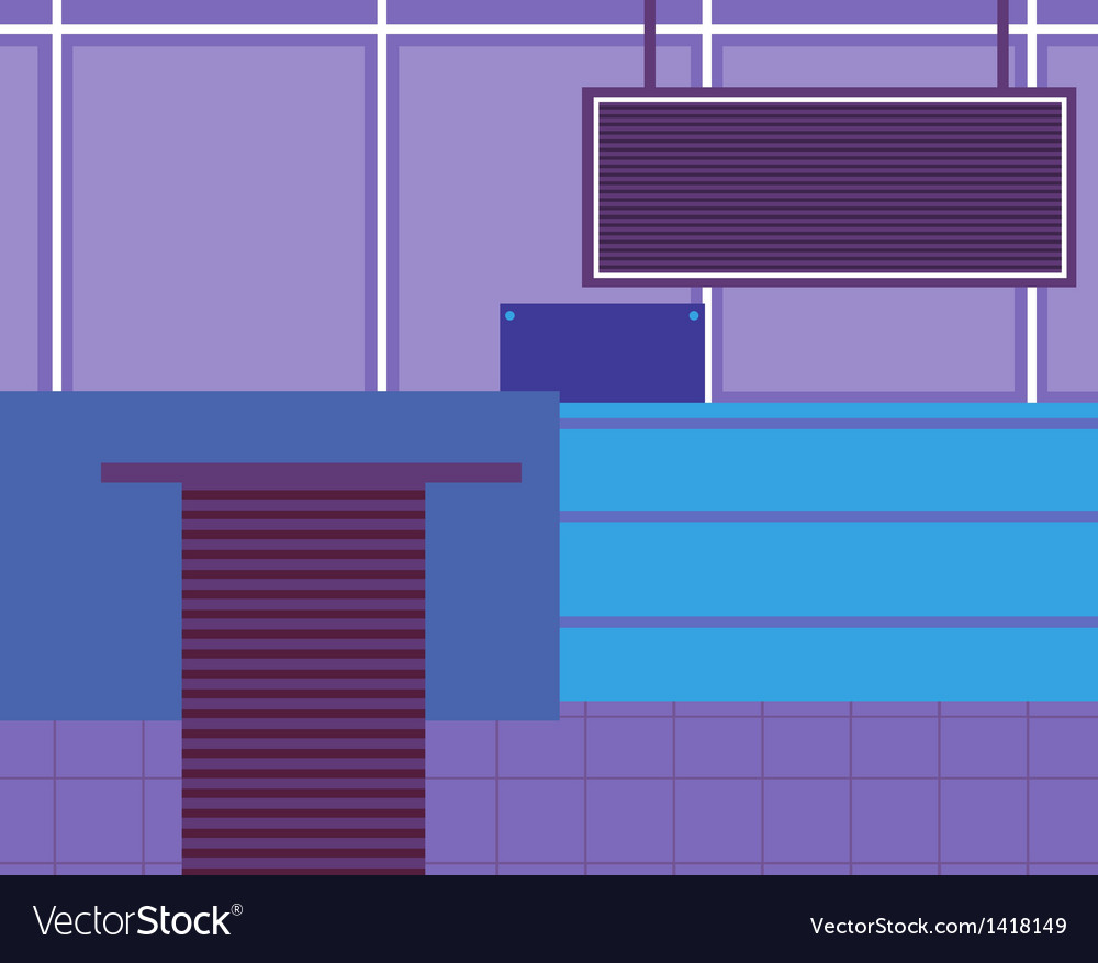 Modern office background vector | Price: 1 Credit (USD $1)