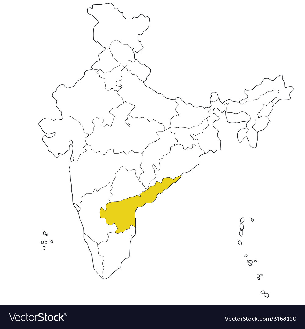 Andhra pradesh vector | Price: 1 Credit (USD $1)
