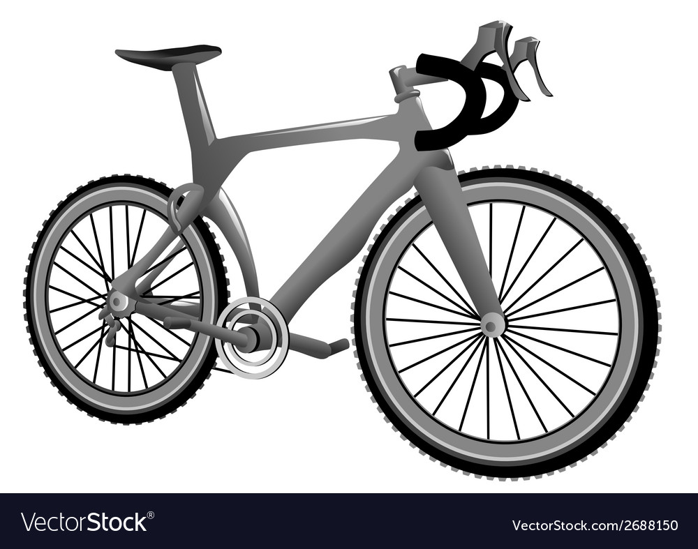Carbon bike vector | Price: 1 Credit (USD $1)