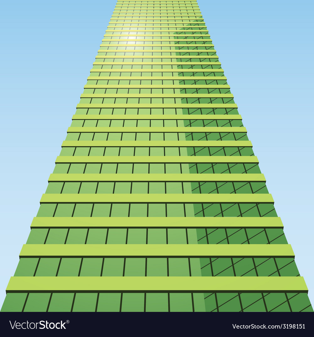 Business building vector | Price: 1 Credit (USD $1)