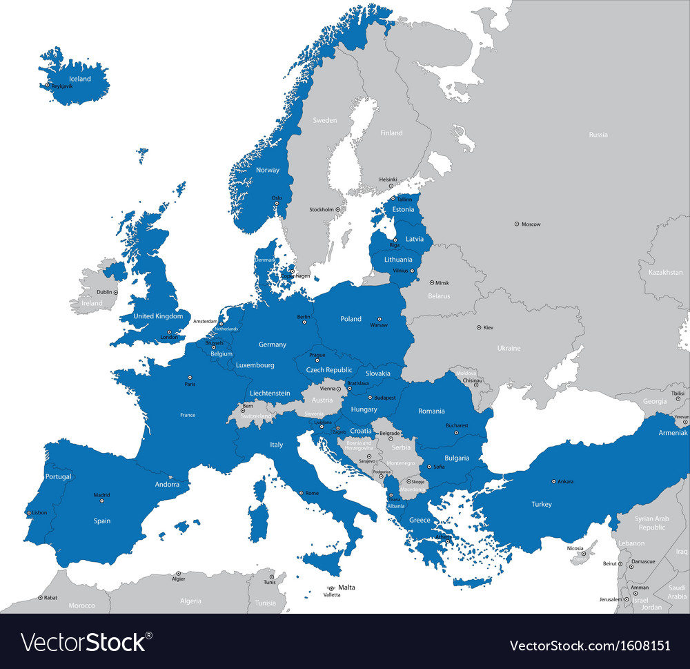 Nato in europe vector | Price: 1 Credit (USD $1)