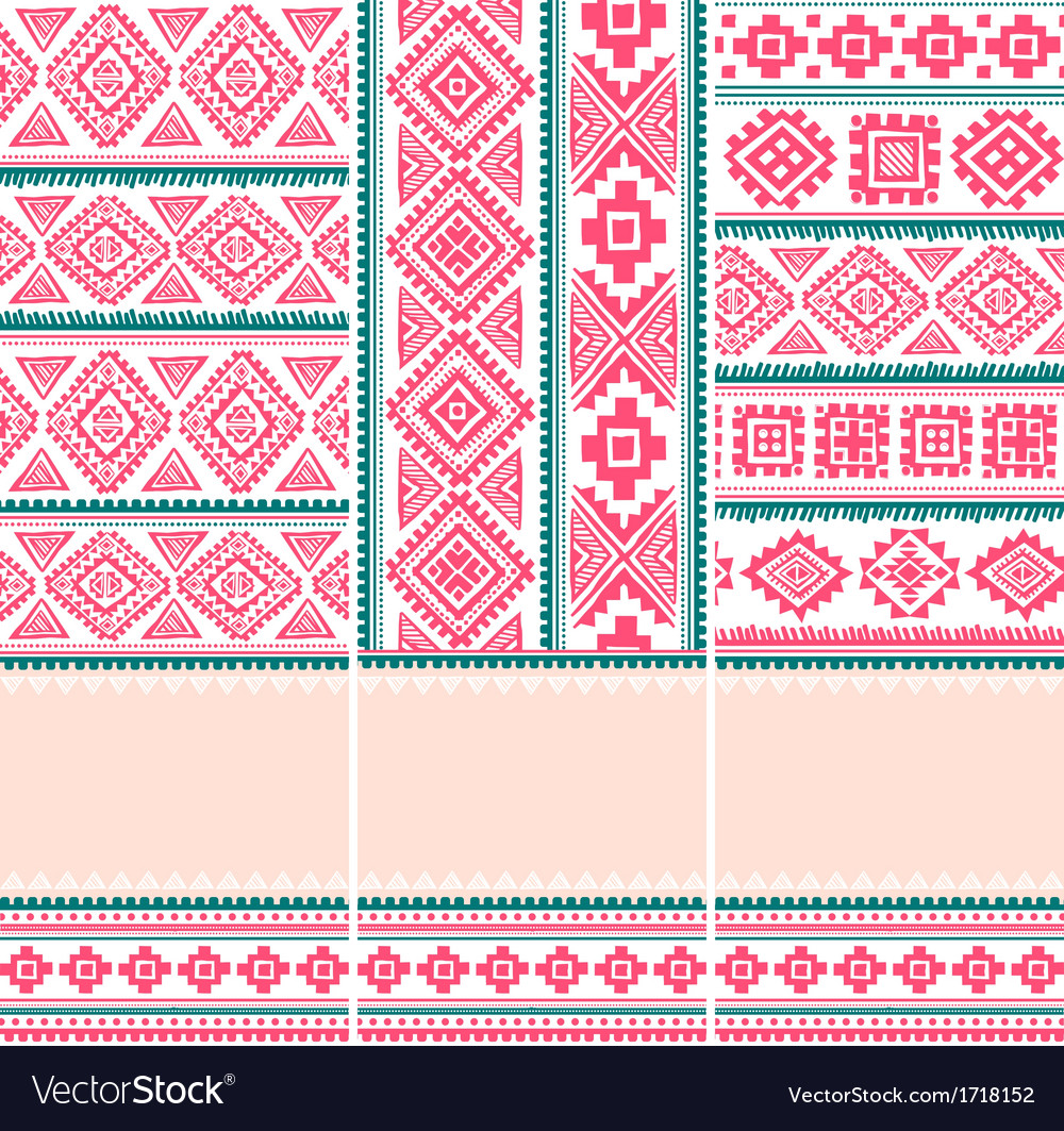 Beautiful vintage ornamental banners vector | Price: 1 Credit (USD $1)