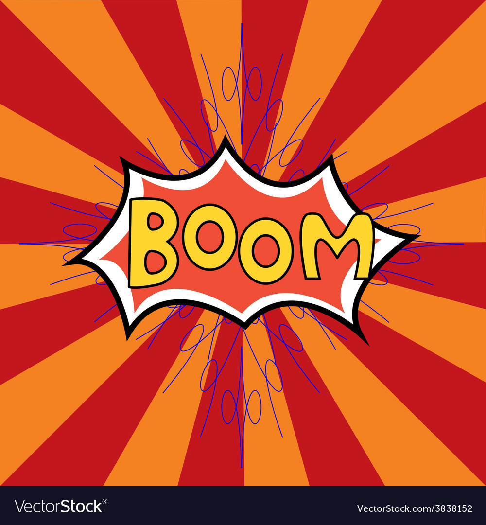 Boom vector | Price: 1 Credit (USD $1)