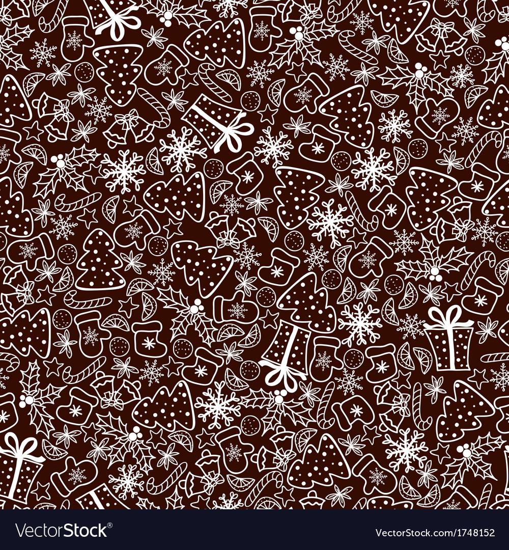 Christmas retro background vector | Price: 1 Credit (USD $1)