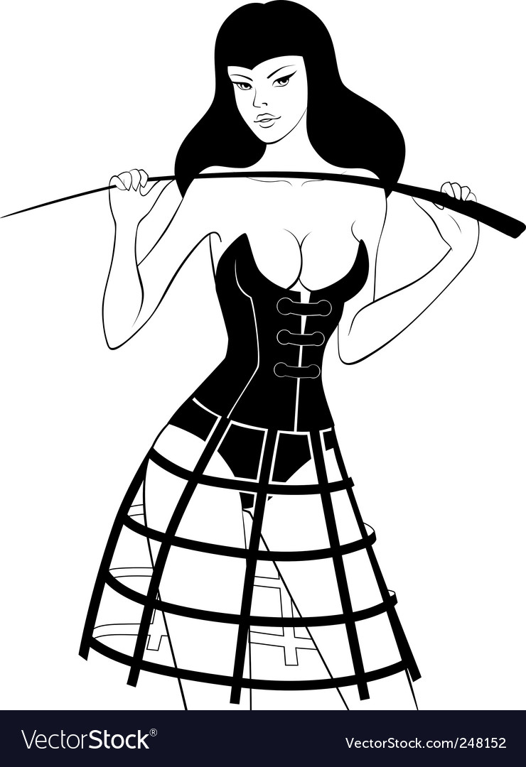 Fetish whip vector | Price: 3 Credit (USD $3)