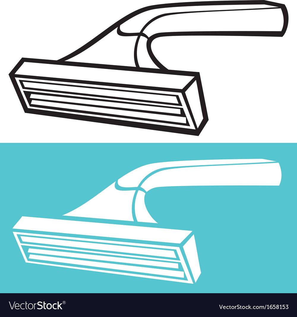 Disposable shaving razor vector | Price: 1 Credit (USD $1)