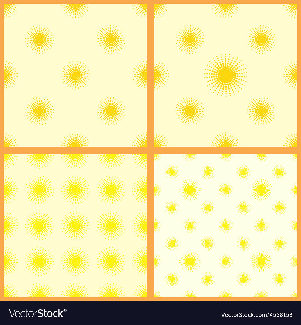 Sun-set-seamless-pattern-01 vector | Price: 1 Credit (USD $1)