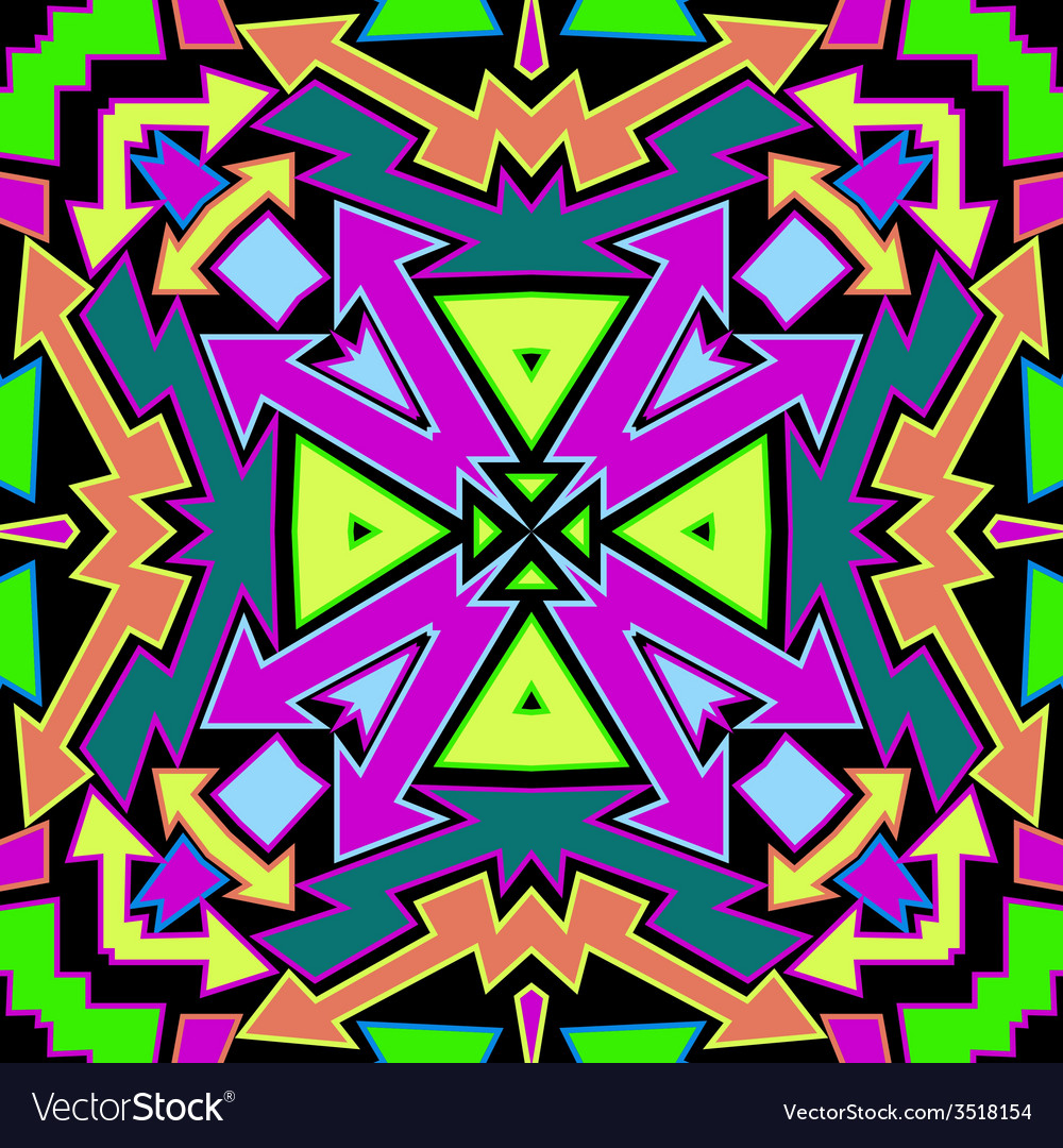 Colorfull arrows abstract pattern vector | Price: 1 Credit (USD $1)