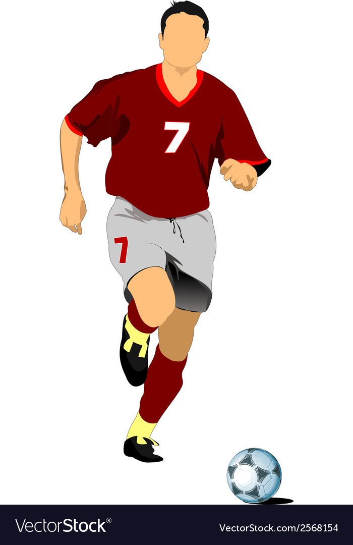 Football 01 vector | Price: 1 Credit (USD $1)