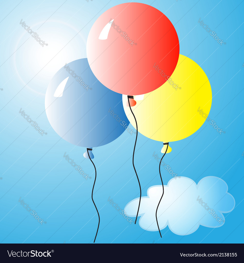 Air balloons 2 vector | Price: 1 Credit (USD $1)