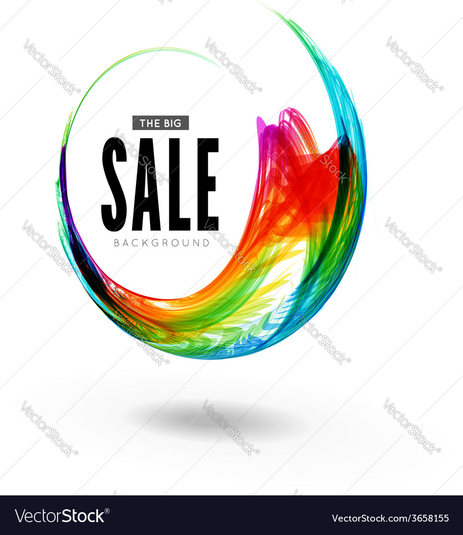 Colorful circle vector | Price: 1 Credit (USD $1)