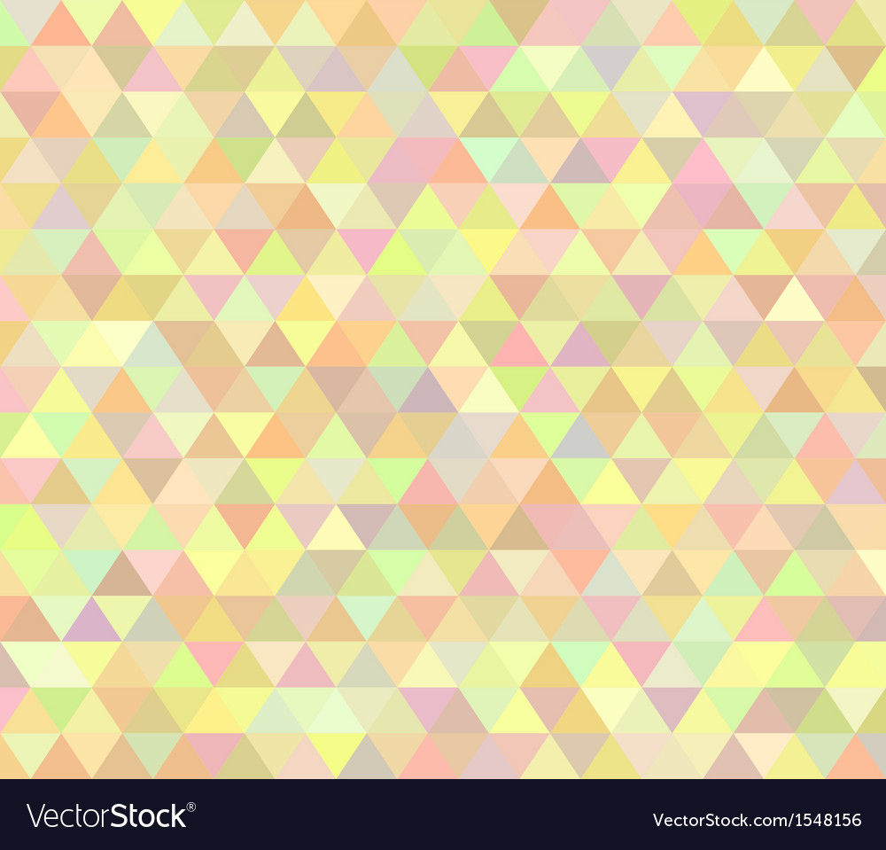 Pastel colored abstract polygon design vector | Price: 1 Credit (USD $1)
