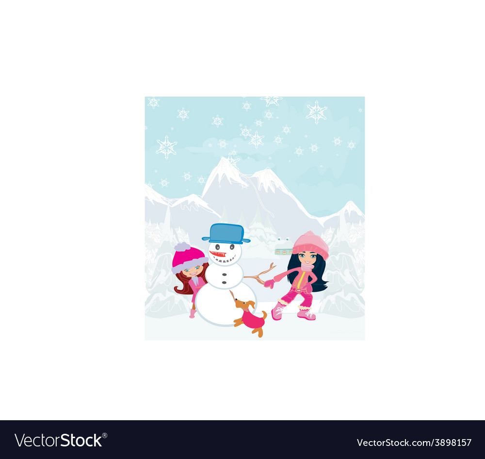 Cartoon christmas design vector | Price: 1 Credit (USD $1)