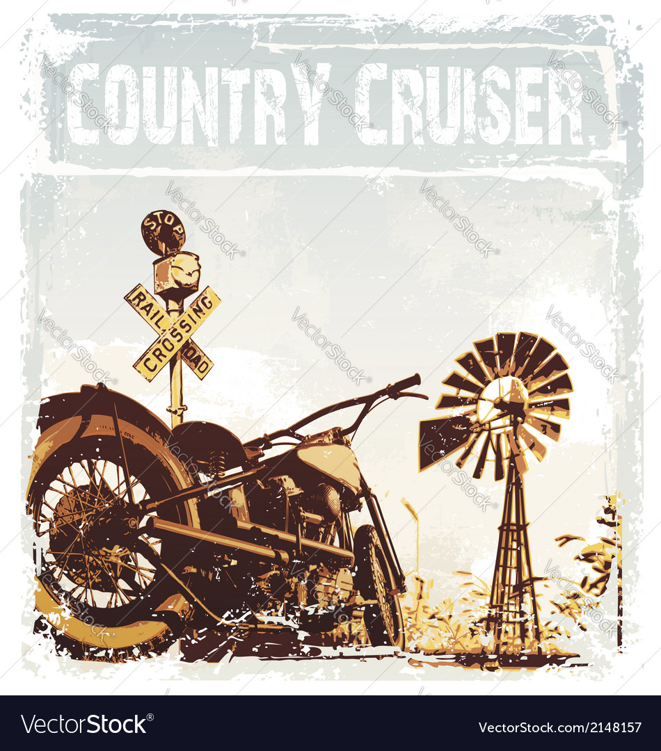 Country cruiser vector | Price: 3 Credit (USD $3)
