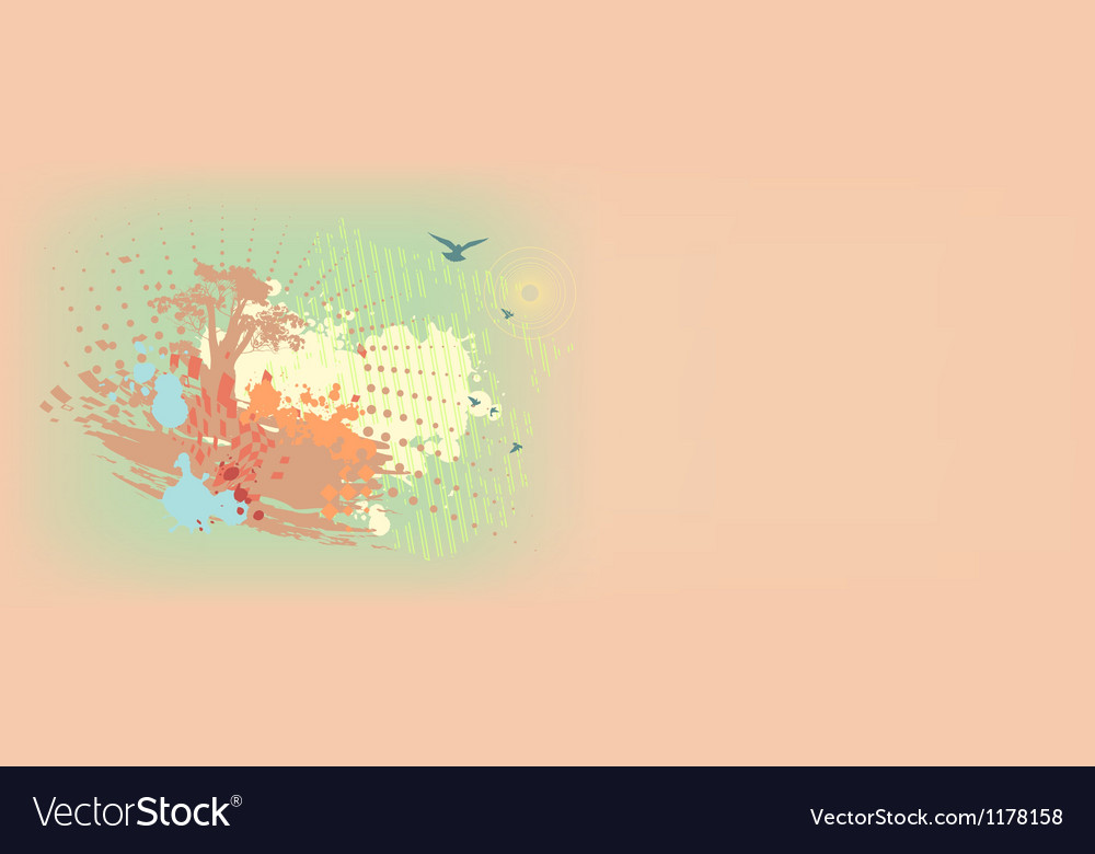 Colorful daub background vector | Price: 1 Credit (USD $1)