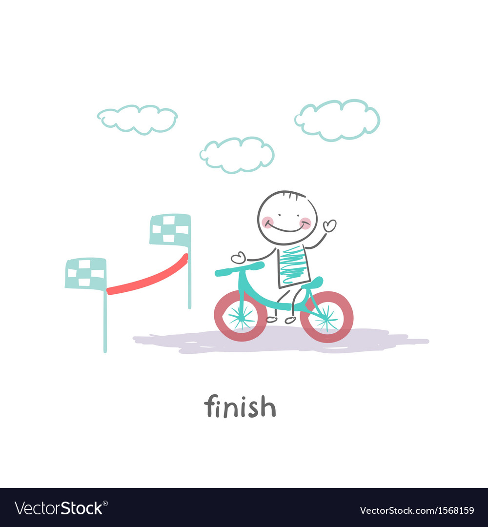 Finish vector | Price: 1 Credit (USD $1)