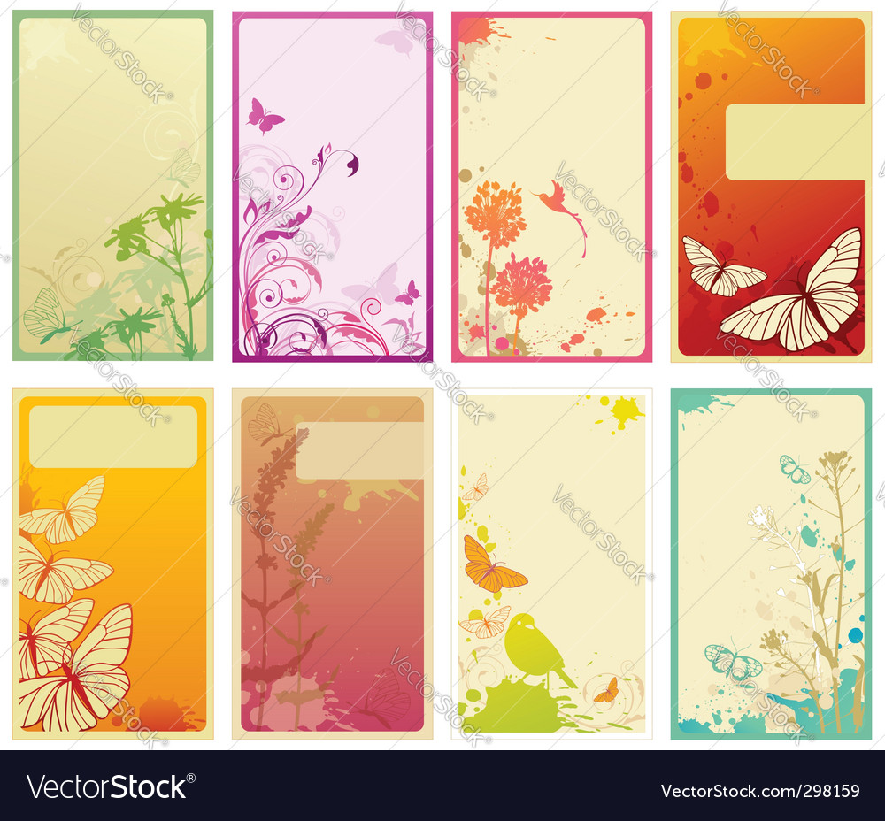 Vertical business cards vector   Price: 1 Credit (USD $1)