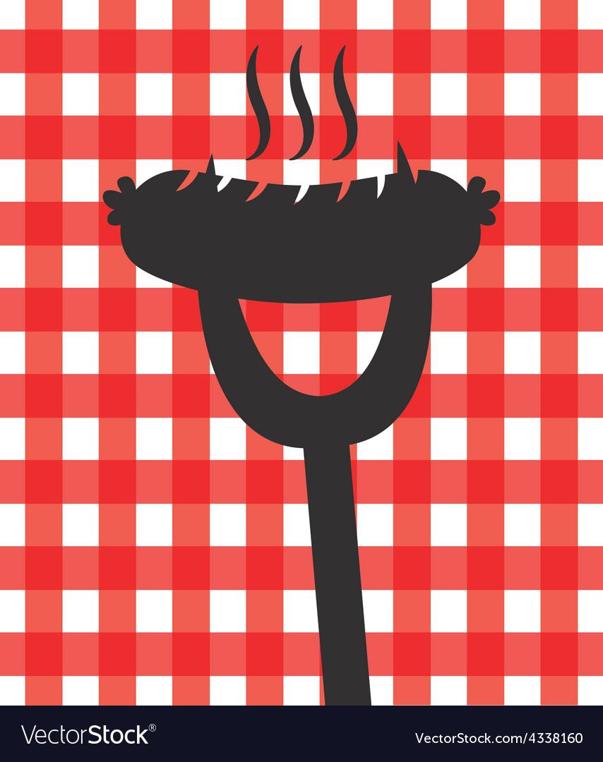 Delicious barbecue vector | Price: 1 Credit (USD $1)