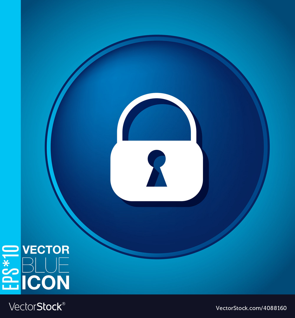 Padlock vector   Price: 1 Credit (USD $1)