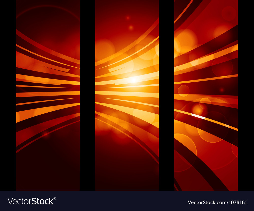 Abstract glowing banner background vector | Price: 1 Credit (USD $1)
