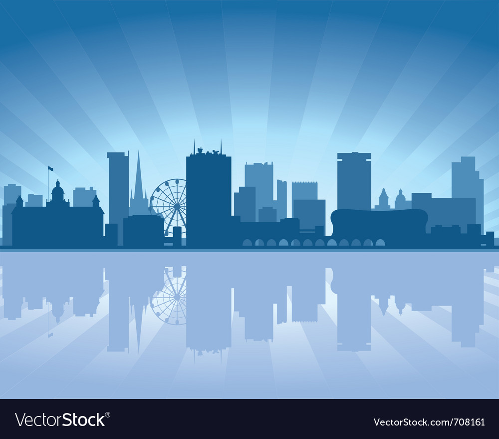 Birmingham skyline vector | Price: 1 Credit (USD $1)