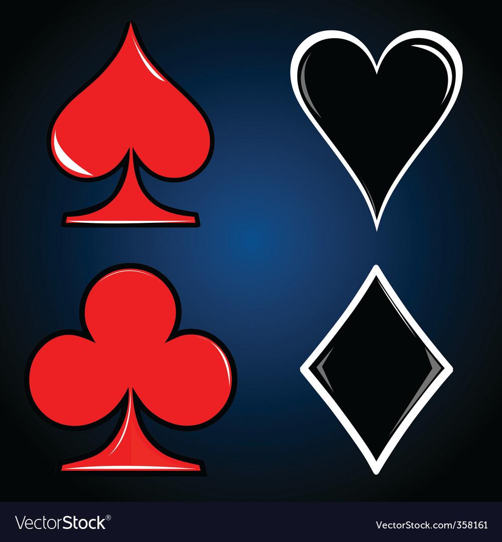 Casino card vector | Price: 1 Credit (USD $1)