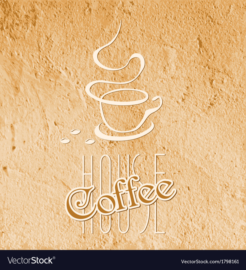 Coffee house texture 01 vector | Price: 1 Credit (USD $1)