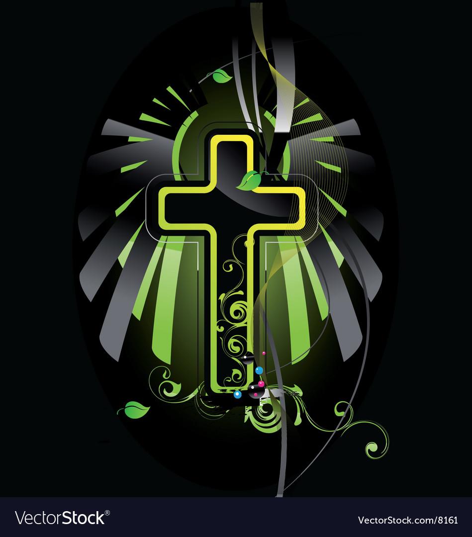 Cross vector | Price: 3 Credit (USD $3)