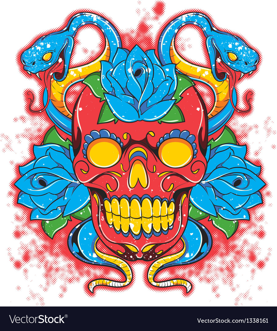 Skull vector | Price: 3 Credit (USD $3)
