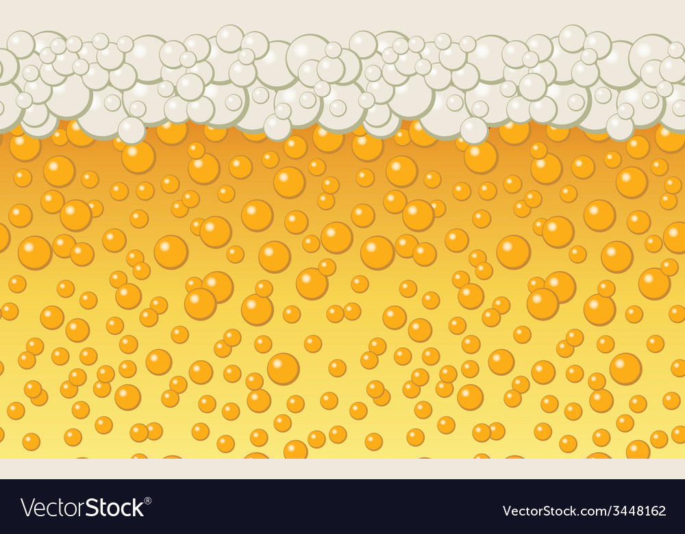 Beer bubbles background vector | Price: 1 Credit (USD $1)