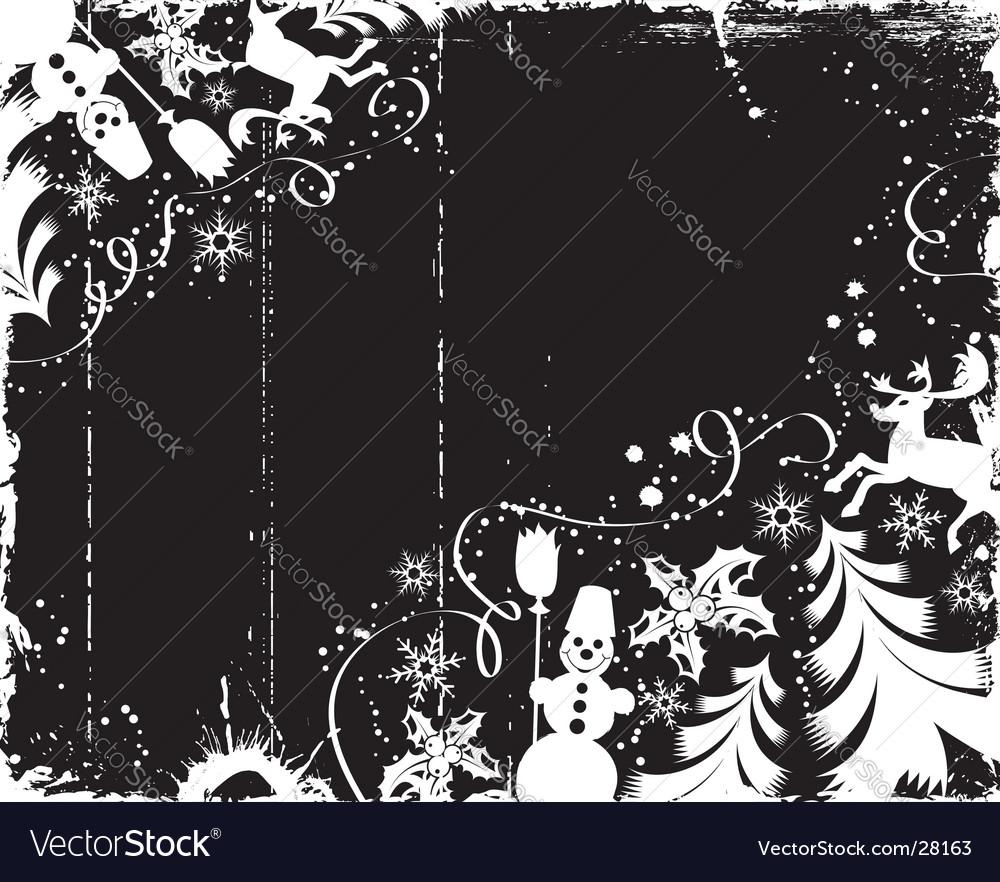 Background snow vector | Price: 1 Credit (USD $1)