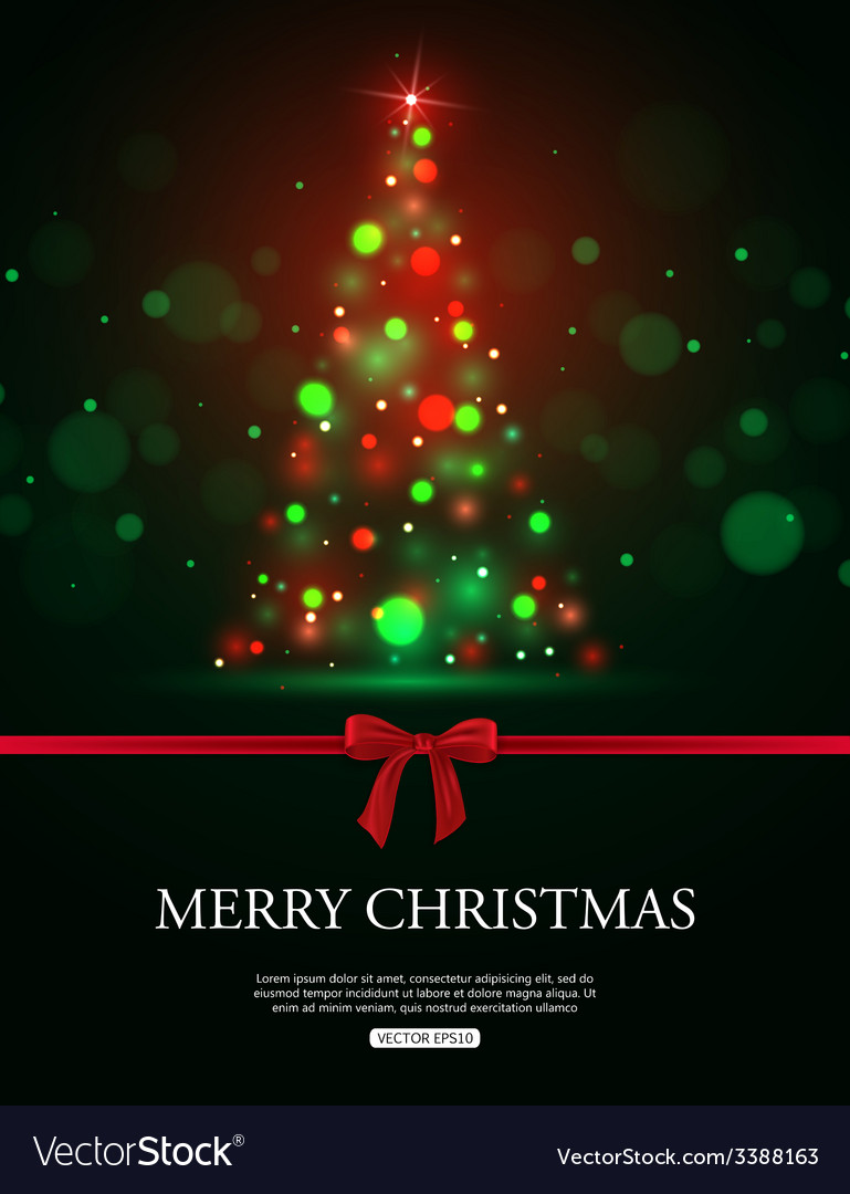 Merry christmas 2015 celebration concept with xmas vector | Price: 1 Credit (USD $1)