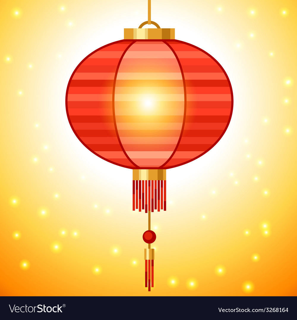Chinese new year background design with lanterns vector   Price: 1 Credit (USD $1)
